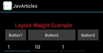 layout_weight changed