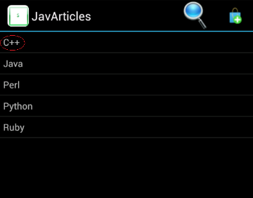 Android SQLite Insert Example - Java Articles