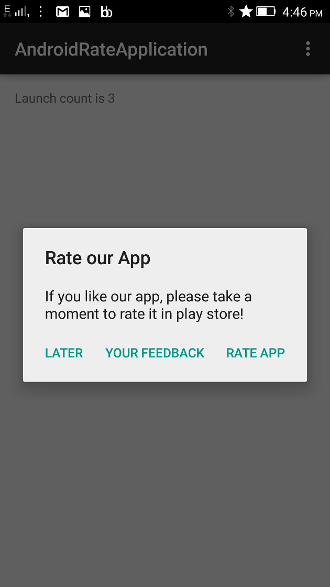 Rate Your App